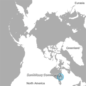 Sanikiluaq map