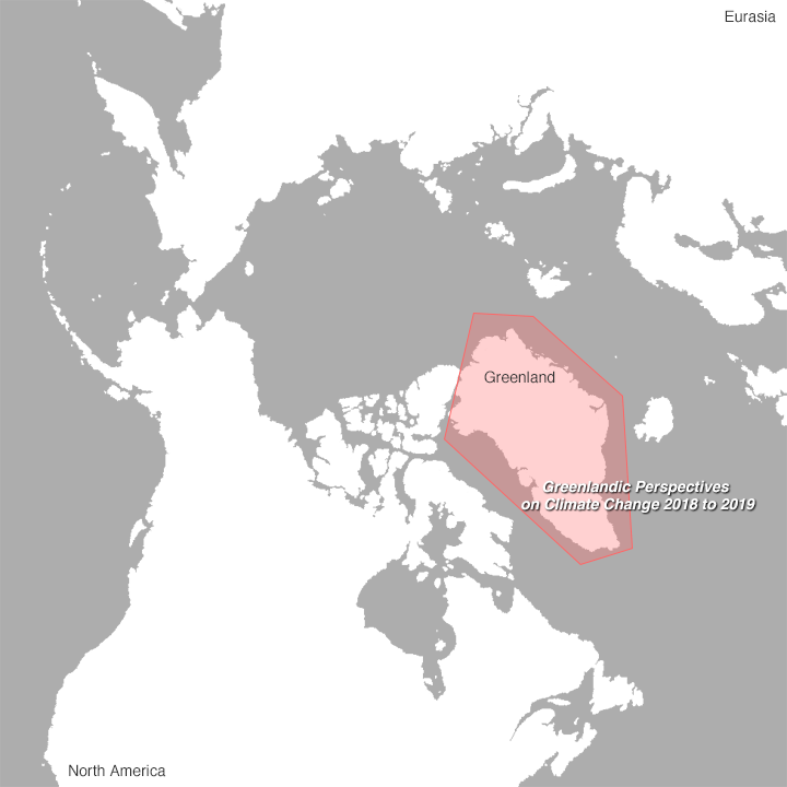 Arctic map Greenland Survey